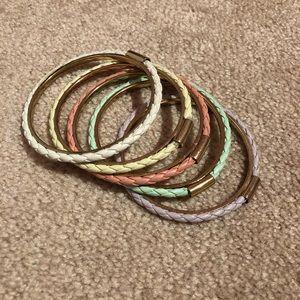 Rope Bangle Bracelets NWOT